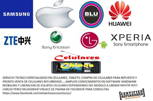 serivicio tecnico en celulares y tablets de todas las marcas