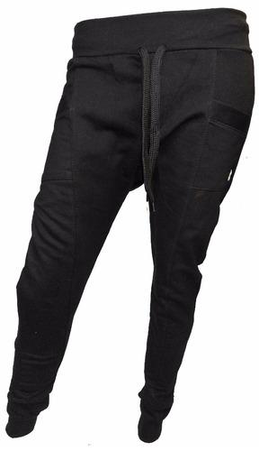 sero950 pantalon babucha jogging chupin algodon frisado