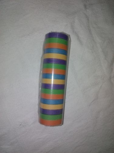 serpentina multicolor para fiestas decoracion hora loca