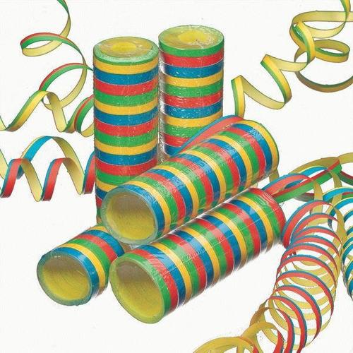 serpentinas de colores fiestas carnaval hora loca decoracion