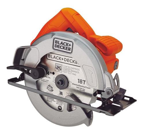 serra circular 7 - 1/4  1400w black+decker - cs1004 110v