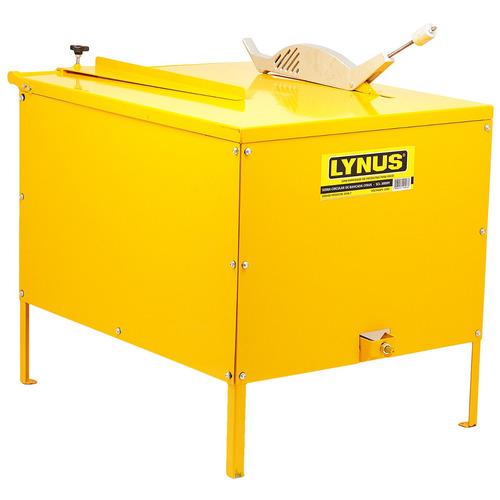 serra circular de bancada madeira 3cv scl-3000m lynus - 127v