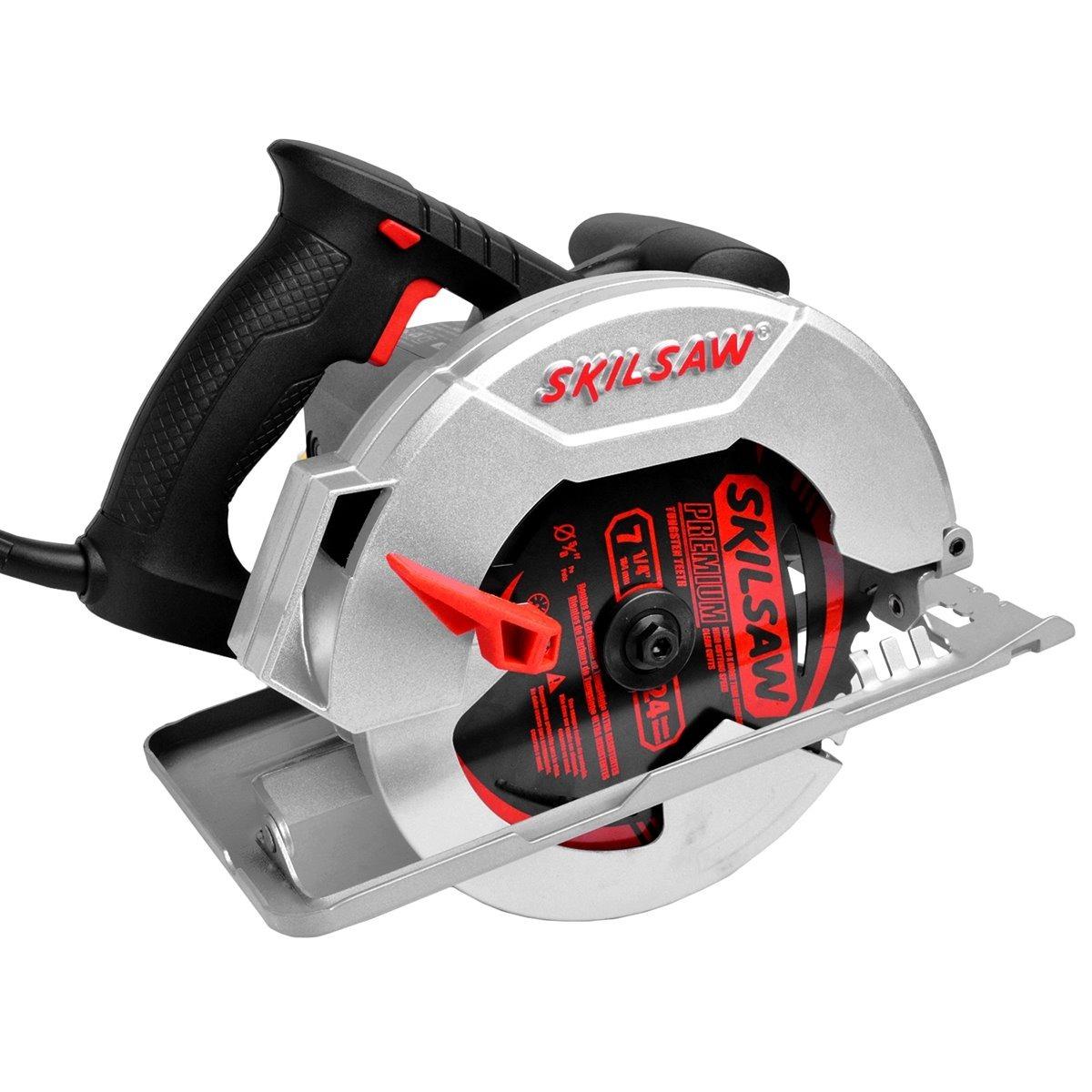 4b28fcef1 Serra Circular Eletrica Skil 5402 1400w 220v Promocao - R  455