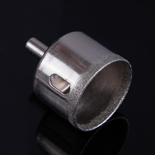 serra copo broca diamantada 40 mm furar vidro piso ceramica