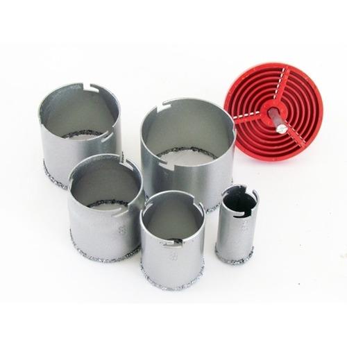 serra copo de tungstênio 6pçs - alvenaria, madeira e ferro