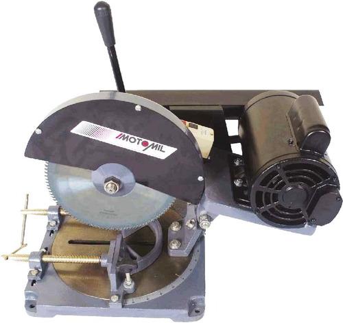 serra de cortar alumínio - sca-100t - com motor de 1,5cv - t