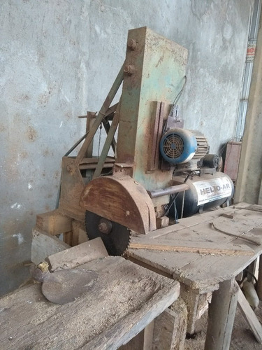 serra destopadeira manual - maquina para marcenaria