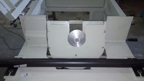 serra esquadrejadeira sab eixo inclinável 45º com motor