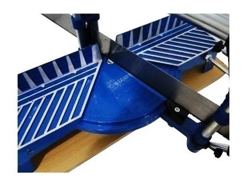 serra esquadria manual 550mm 1/2 meia para madeira aluminio