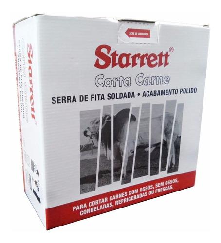 serra fita p/ açougueiro cx c/5pçs 2,52m corta carne 16305