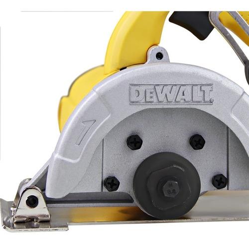 serra mármore 1400w, 13.000 rpm dewalt - dw862