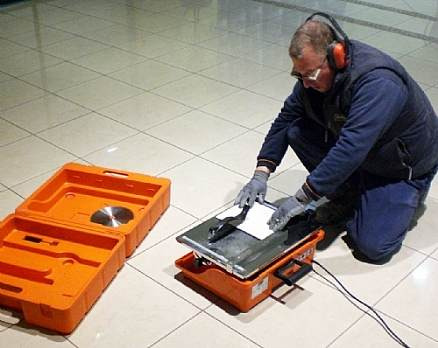 serra mármore de bancada corta piso norton tt200 110v
