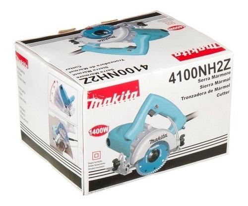 serra mármore makita 4100nh2z 220v + 2 discos frete gratis