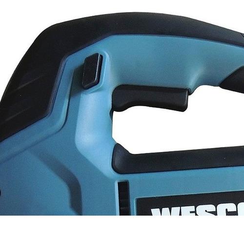 serra tico-tico 850w ws3772 wesco profissional com led 220v