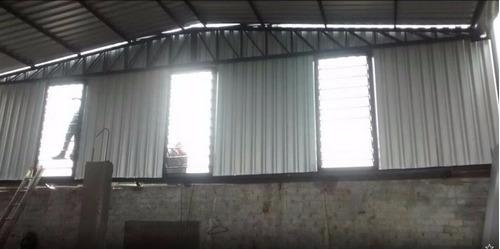 serralheria - estrutura metalica galpao mezanino portão