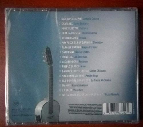 serrat... eres unico! vol.2 cd varios artistas original