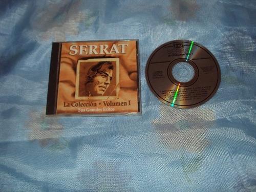 serrat la coleccion vol.i  cd inportado