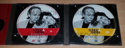 serrat & sabina dos pajaros de un tiro (cd/dvd) c1 2