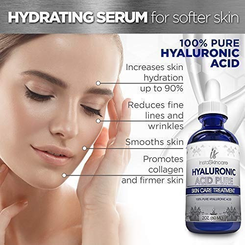 serum 100% puro acido hialuronico 60ml de usa