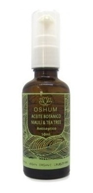 serum: aceite botanico de niaulí & tea tree