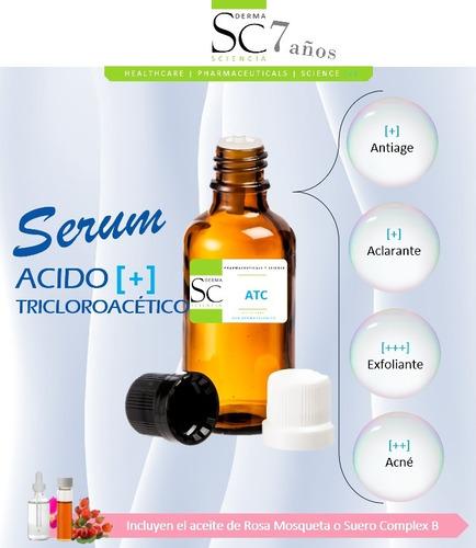serum acido tricloroacetico tca 80%, sciencia verruga