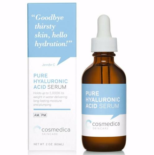 serum antiedad ácido hialurónico 100%puro 2oz 60ml cosmedica