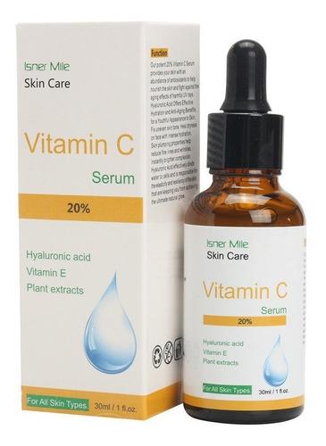 serum de acido hialuronico + vitamina c 20%