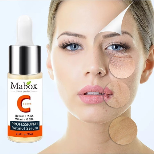 serum de retinol 2. 5% + vitamina c 20%