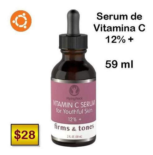 serum de vitamina c 12%+ ( hecho en usa ) 59ml