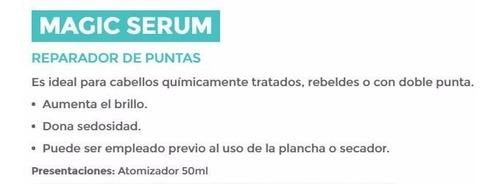 serum nov- reparador de puntas 50ml