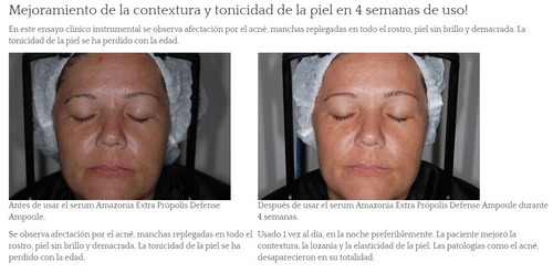 serum ultranutritivo - amazonia extra propolis ampoule