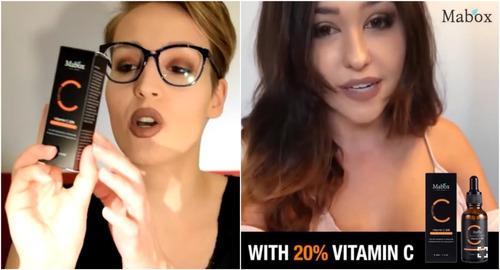 serum vitamin c 20% + ácido hialurónico anti-arrugas
