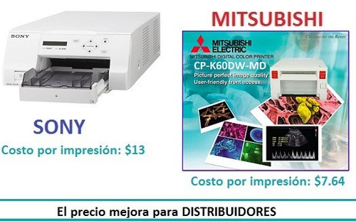 serv. de ing. y vta. de impresora sony up-25md y ck-k76rhg
