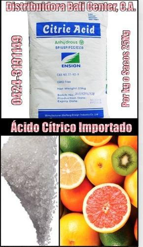 servcio saborizador conservante puro americano acido citrico