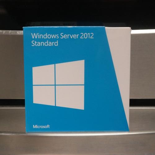 server 2012 standard fpp box lacrado
