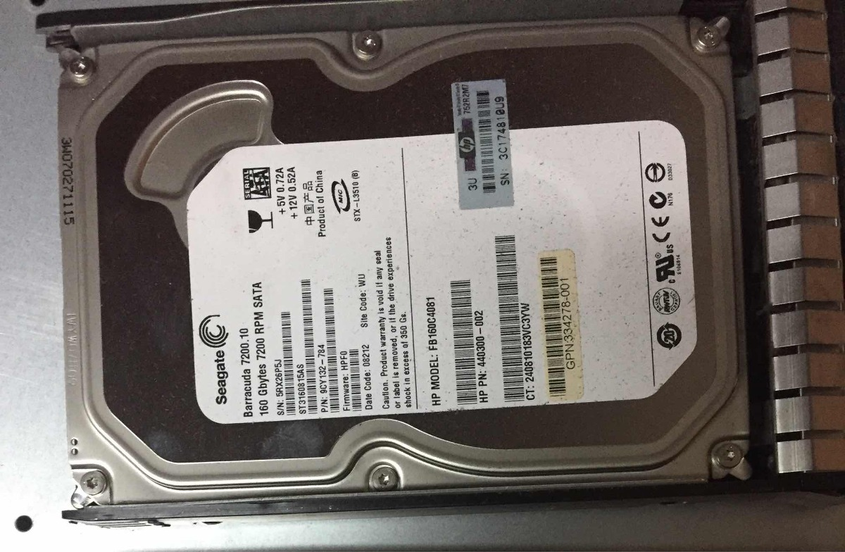 Server Hp Dl 320 G5 Dual-core Xeon 2 4ghz Sata 160 Barracuda - $ 4 000,00