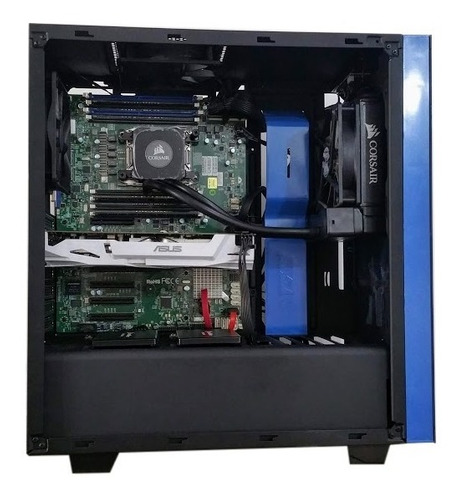 server workstation 256 gb xeon 2698 v3 rtx2080 8tb + 512 m.2