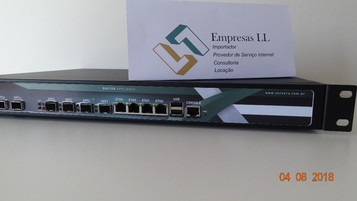 Serverx Router Routerboard Mikrotik Vyos Vmware 4x Ccr1036