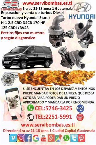servibombas turbo hyundai grace 4d56 2.5 td04 guatemala