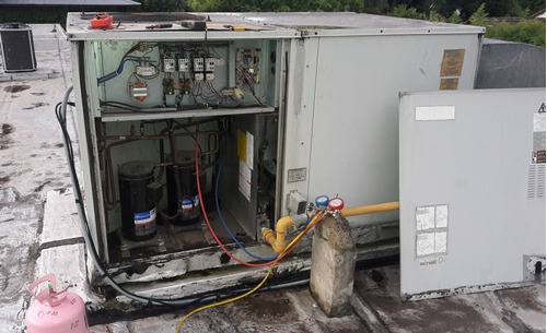 service aire acondici heladera carga gas reparacion tecnicos