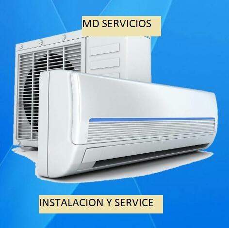 service de aire acondicionado, heladeras y freezer.