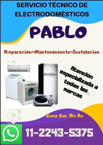 service de heladeras , lavarropas y aire acondicionado