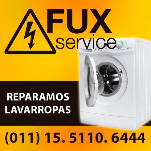 service de lavarropas, carga frontal y superior