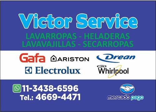 service de lavarropas-heladeras whirpool ariston drean