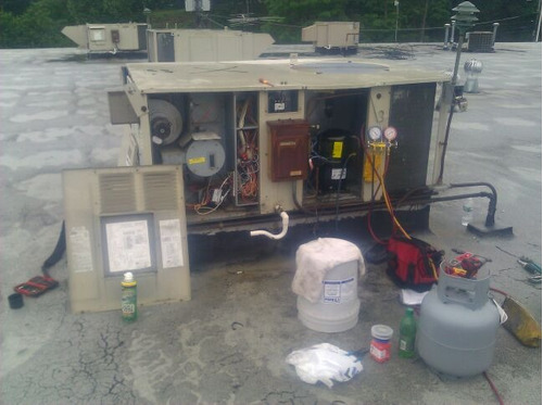 service de refrigeración, control de clima, chillers, aire