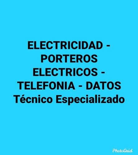 service electricidad porteros electricos telefonia datos