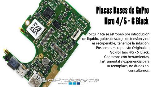 service especializado gopro hero 5, 6, 7 black