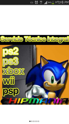 service especializado playstation 4 ps3 ps2 psxwii xbox psp