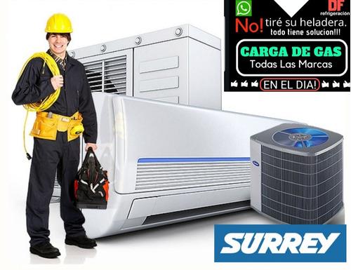 service heladera aire carga gas tecnico reparacion recargas