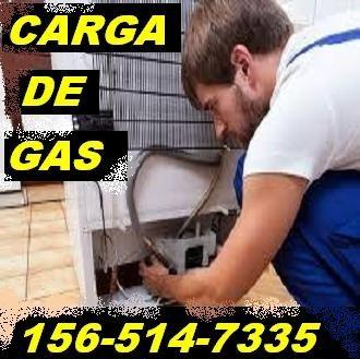 service heladera carga de gas aire acondicionado reparación